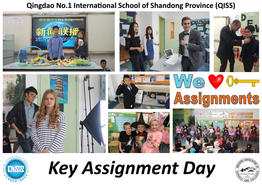 Key Assignment Day Saturday Oct 14th