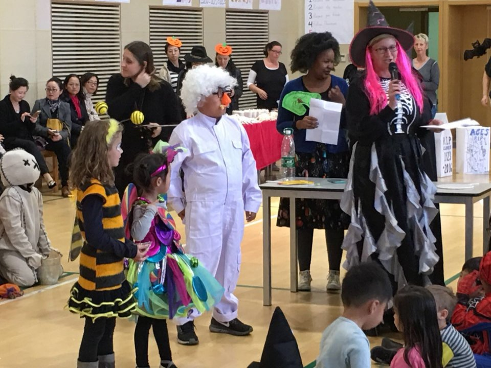 Halloween at QISS 2017